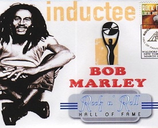 bob marley rock and roll hall of fame
